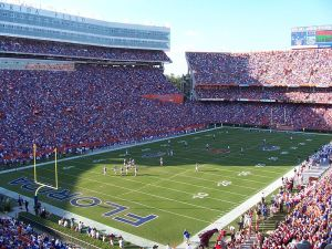 Ben Hill Griffin Stadium will be like standing in front of a jet engine on Saturday.