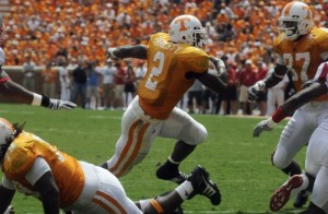 Montario Hardesty is the Vol offense so far this season. Photo by Michael Patrick.