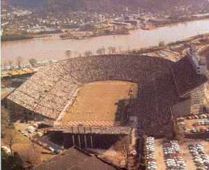 Neyland Stadium in 1966, the year of my first Tennessee game.