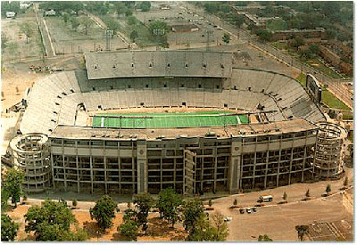 "Old Legion Field was dubbed the ""Football Capital of the South."""
