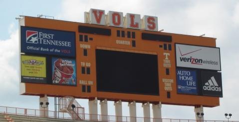 Scoreboard_Neyland Stadium