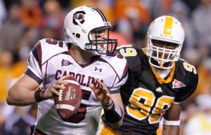 South Carolina Tennessee Football