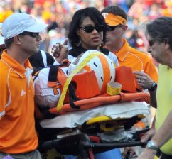 Injured Vol LaMarcus Thompson