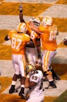 Vols Celebrate in the End Zone