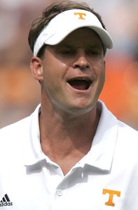 Lane Kiffin, new head coach of the Southern Cal Trojans