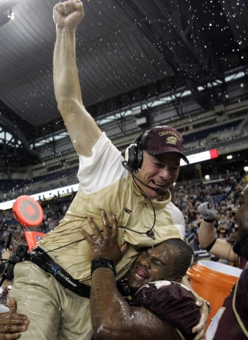 Butch Jones has had success as a head football coach. Photo courtesy of KNS.