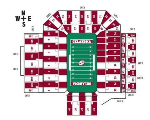 Oklahoma Stipe the Stadium Instructions