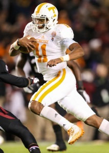 Tennessee QB Josh Dobbs transformed the fortunes of the 2014 Vols with a performance for the ages.
